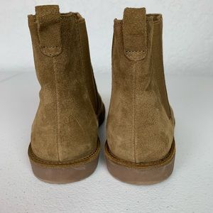 Lands' End Shoes - Lands End boys Chelsea boot brown suede size 1